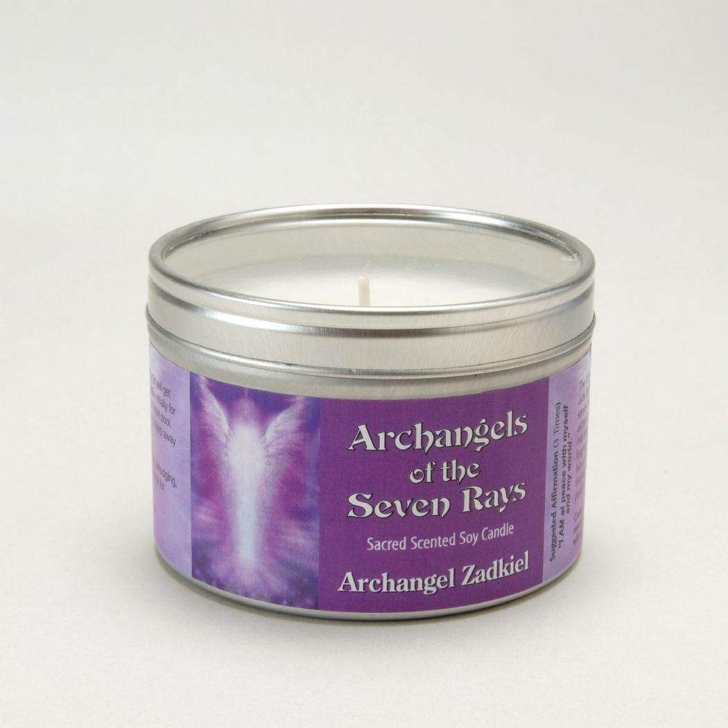 Archangel Zadkiel Candle